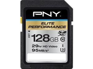 PNY MEMORY P-SDX128U395-GE 128GB SDXC CLASS 10 UHSI U3