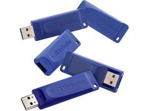 VERBATIM 99810 16GB 5 pk USB Flash Drive Blue