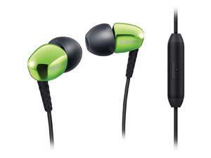 PHILIPS SHE3905GN HEADPHONES,IN-EAR,MIC,BLK