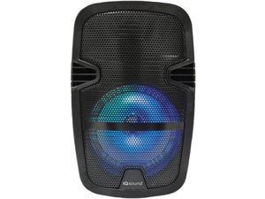Supersonic IQ-4708DJBT-BK 8-Inch LED Tailgate Bluetooth Speaker