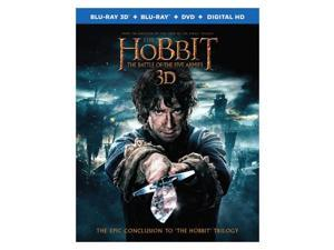 The Hobbit The Battle of the Five Armies (Blu-ray 3D + Blu-ray + DVD + UV Combo)