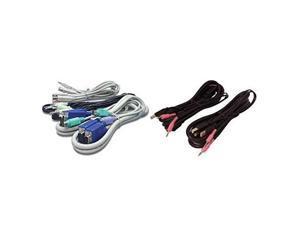 VERTIV CBL0124 CABLE, 2-DISPLAYPORT/1-USB/2-AUDIO, 6FT