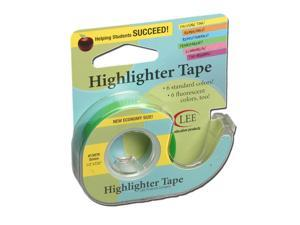 Lee Products Company LEE13976 Removable Highlighter Tape Green
