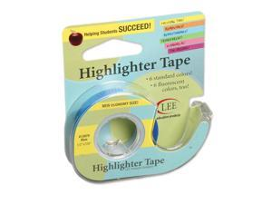 Lee Products Company LEE13979 Removable Highlighter Tape Blue