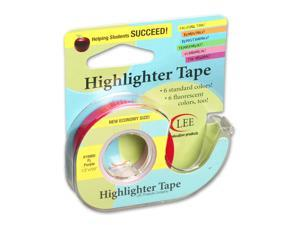 Lee Products Company LEE19980 Removable Highlighter Tape Fluorscent Purple