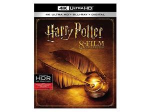 HARRY POTTER COLLECTION (BLU-RAY/4K-UHD/DIGITAL HD/8 MOVIES)