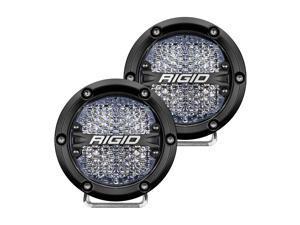 RIGID INDUSTRIES 360-SERIES 4 LED OFF-ROAD DIFFUSED BEAM