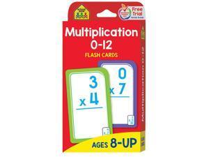 (12 Pk) Multiplication 0-12 Flash Cards