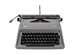 Royal 79103Y EPOCH Manual 88-Character Typewriter, Gray