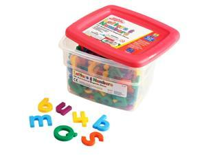 EDUCATIONAL INSIGHTS ALPHA AND MATH MAGNETS MULTI 214PK
