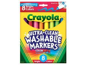 Crayola Broad Line Washable Markers - 8-Pack