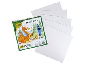 "Crayola Sketchbook 9""X9""-40 Sheets"