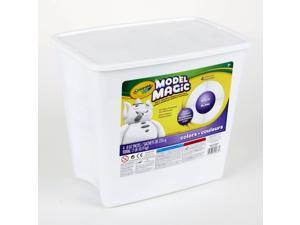 Binney & Smith 574400 Model Magic Self-Hardening Modeling Compound  Four 8oz Pouches per Bucket  White
