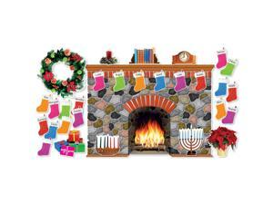 Scholastic Holiday Hearth Bb Set 546913