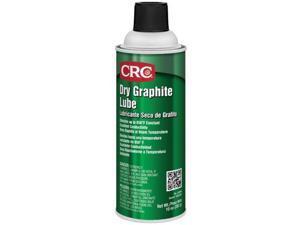 Crc Graphite Lubricant to 850°F, Graphite, 10 oz. Aerosol Can   03094