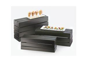 20W x 7D x 7H Midnight Rectangle Crate Risers 1 Ct