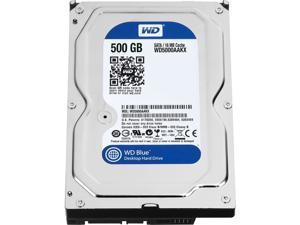 """WD WD5000AAKX Blue WD5000AAKX 500 GB Hard Drive - 3.5"""" Internal - SATA (SATA/600)"""
