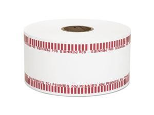 Coin-Tainer Automatic Coin Rolls Pennies $.50 1900 Wrappers/Roll 50001