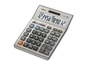 DM1200BM Desktop Calculator, 12-Digit LCD, Silver DM1200BM