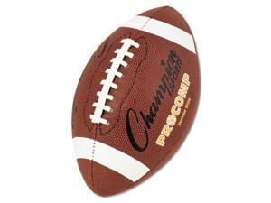 "Champion Sports Pro Composite Football Junior Size 20.75"" Brown CF300"