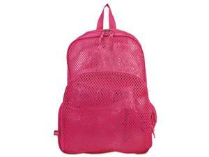 Eastsport 113960BJENR Mesh Backpack, 12 x 5 x 18, Pink