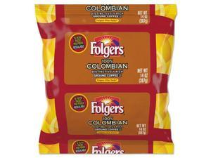 Folgers Colombian Ground Coffee Filter Packs Ground - Regular - Colombian - Bold - 1.4 oz - 40 / Carton  FOL10107
