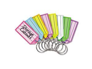 SteelMaster Replacement Tags for Multi-Color Key Rack 2 1/4 Square Assorted