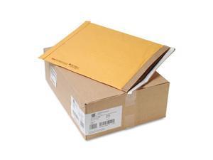 "Jiffy Mailer Padded Self-seal Mailers - Padded - #7 - 14 1/4"" Width x 20"" Length - Self-sealing - Kraft, Fiber - 25 / Ca"