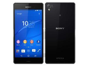 "SONY Xperia Z3 D6603 4G LTE Black 20MP 5.2"" 16GB FACTORY UNLOCKED 3GB RAM Smartphone"