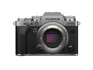 Fujifilm X-T4 Mirrorless Digital Camera  Body (Silver)