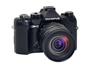 Olympus OM-D E-M5 Mark III Camera with M.Zuiko ED 12-45mm F4.0 PRO Lens, Black