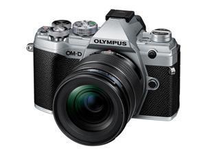 Olympus OM-D E-M5 Mark III Camera with M.Zuiko ED 12-45mm F4.0 PRO Lens, Silver