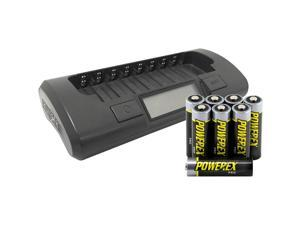 Maha Powerex MH-C800S 8-Cell Smart Charger for AA/AAA, NiMH/NiCD Batteries