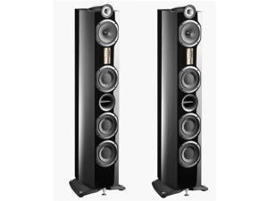 Triangle Genese Lyrr HiFi Floor Standing Speaker, Black, SINGLE #GENETEC37IV2C