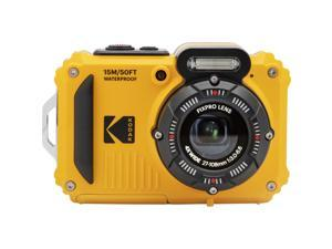KODAK PIXPRO WPZ2 Waterproof Rugged Digital Camera, Yellow #WPZ2-YL