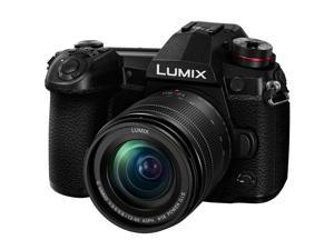 Panasonic Lumix G9 Mirrorless Camera with Lumix G Vario 12-60mm f/3.5-5.6 Lens