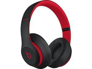 Beats by Dr. Dre Beats Studio3 Wireless Over-Ear Headphones, Defiant Black/Red