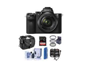 Sony Alpha a7II Mirrorless with 28-70mm OSS Lens and Free Accessories