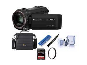 Panasonic HC-V770 Full HD Camcorder With Free Accessory Bundle #HC-V770K A