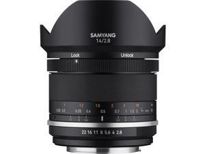 Samyang MK2 14mm f/2.8 Weather Sealed Ultra Wide Angle Lens for Nikon #MK14AE-N