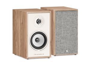 Triangle Borea BR02 80W 2-Way HiFi Bookshelf Speakers, Light Oak, Pair