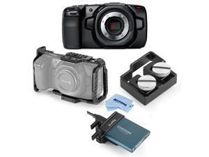 Blackmagic Pocket Cinema Camera 4K with SmallRig Accessory Bundle