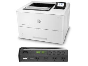 HP LaserJet Enterprise M507dn Monochrome Printer Bundle with APC Surge Protector