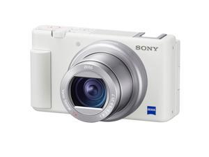 Sony ZV-1 Compact 4K HD Camera, White #DCZV1/W