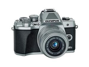 Olympus OM-D E-M10 Mark IIIs Camera with M.Zuiko Digital 14-42mm IIR Lens,Silver