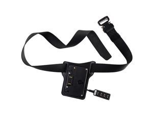 IndiPRO Universal Gold Mount Battery Belt with 5-Way D-Tap Outputs #GMBB2