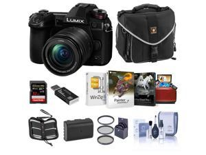 Panasonic Lumix G9 4K Camera w/12-60mm f/3.5-5.6 Lens Bundle w/Acc, Mac Software