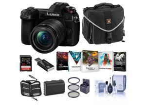 Panasonic Lumix G9 Camera w/12-60mm f/3.5-5.6 Lens, Bundle w/Acc & PC Software