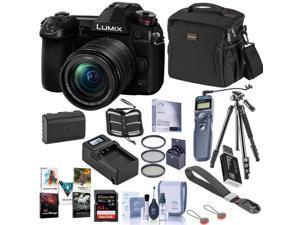 Panasonic Lumix G9 4K Camera with 12-60mm f/3.5-5.6 Lens Bundle with Premium Acc