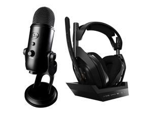 Blue Microphones Ultimate USB Mic for Pro Recording W/ Astro Gaming A50 Headset